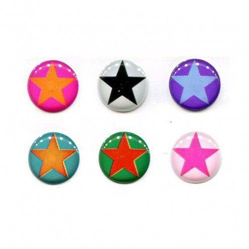Home Sticker sticker button Home iPhone 3GS / 4 / 4s / 5 Design Stars