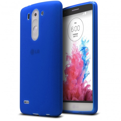 Frozen Ice Extra Slim soft Blue case for LG G3 S / Mini