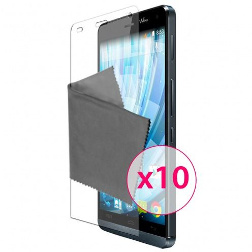 Clubcase ® Ultra Clear HD screen protector for Wiko Getaway 10-Pack