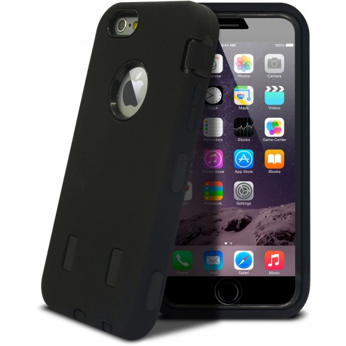 Shockproof 'ULTIMATE' Black Case for iPhone 6 Plus