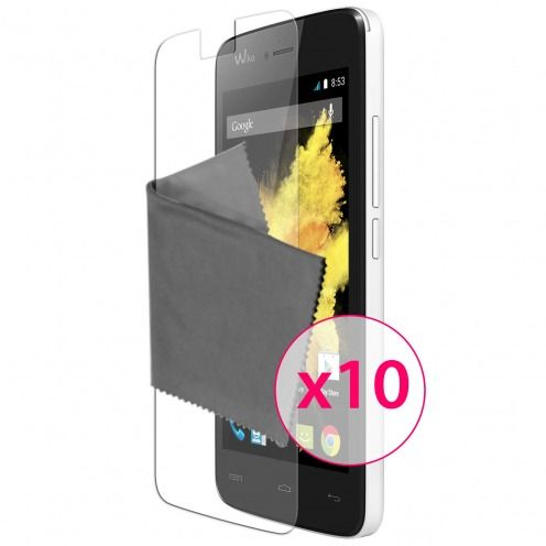 Clubcase ® Ultra Clear HD screen protector for Wiko Birdy 10-Pack