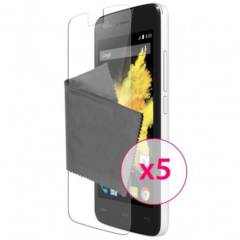 Clubcase ® Ultra Clear HD screen protector for Wiko Birdy 5-Pack