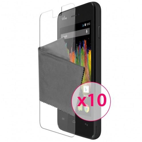 Clubcase ® Ultra Clear HD screen protector for Wiko Kite 10-Pack