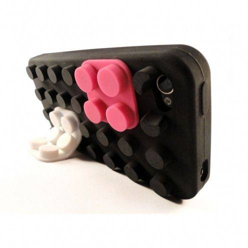 "iPhone 4S/4 Block case ""LEGO"" Design black"