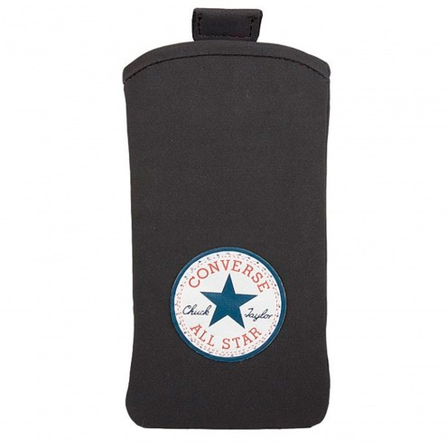 Converse All Star® Suede Pouch for iPhone 4/4S Black - Size L