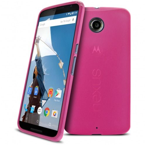 Frozen Ice Extra Slim soft Pink case for Nexus 6