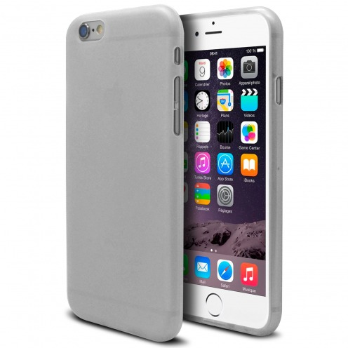 Frozen Ice Extra Slim soft White case for iPhone 6