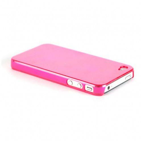 Extra Slim Crystal case for iPhone 4S/4 pink