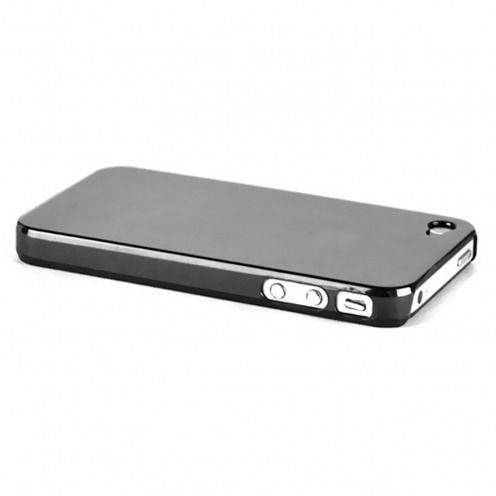 Extra Slim Crystal case for iPhone 4S/4 Black