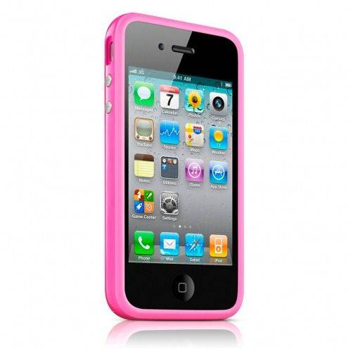 Bumper HQ pink for iPhone 4 S / 4