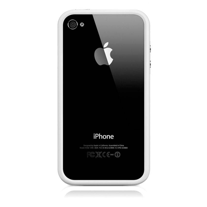 Bumper HQ white for iPhone 4 S / 4