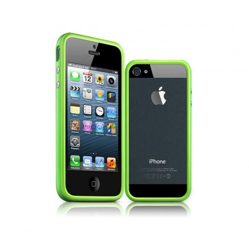 Bumper for iPhone 5 / 5S / SE HQ Green