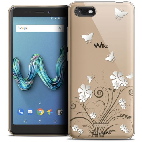 """Extra Slim Crystal Gel Wiko Tommy 3 (5.45"""") Case Summer Papillons"""