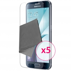 Clubcase ® Ultra Clear HQ screen protector for Galaxy S6 5-Pack