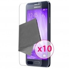 Clubcase ® Ultra Clear HQ screen protector for Galaxy A3 10-Pack