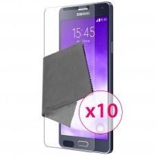 Clubcase ® Ultra Clear HQ screen protector for Galaxy A7 10-Pack