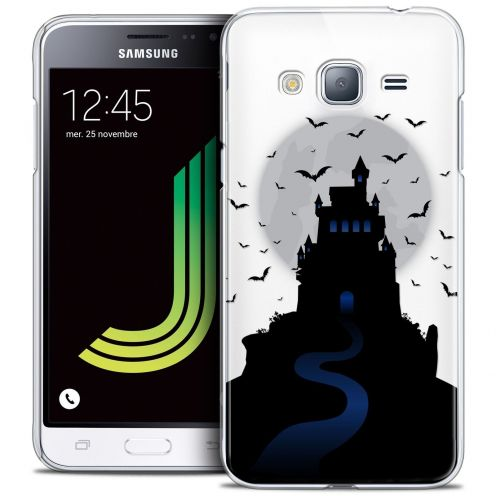 Coque Crystal Samsung Galaxy J3 2016 (J320) Extra Fine Halloween - Castle Nightmare