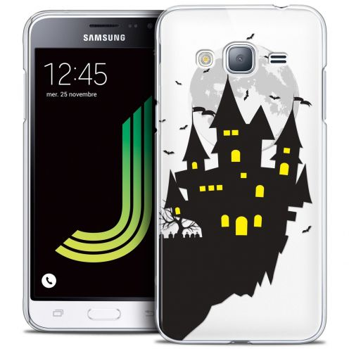 Coque Crystal Samsung Galaxy J3 2016 (J320) Extra Fine Halloween - Castle Dream