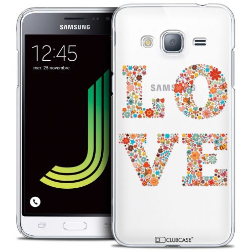 Coque Crystal Samsung Galaxy J3 2016 (J320) Extra Fine Summer - Love Flowers