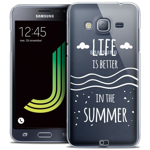 Coque Crystal Samsung Galaxy J3 2016 (J320) Extra Fine Summer - Life's Better