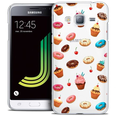 Coque Crystal Samsung Galaxy J3 2016 (J320) Extra Fine Foodie - Donuts