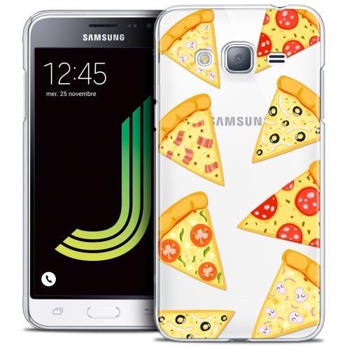 Coque Crystal Samsung Galaxy J3 2016 (J320) Extra Fine Foodie - Pizza