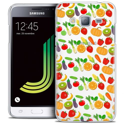 Coque Crystal Samsung Galaxy J3 2016 (J320) Extra Fine Foodie - Healthy