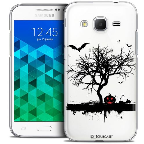 Coque Crystal Samsung Galaxy Core Prime (G360) Extra Fine Halloween - Devil's Tree