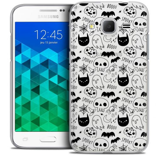 Coque Crystal Samsung Galaxy Core Prime (G360) Extra Fine Halloween - Spooky