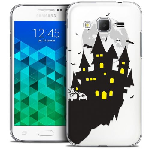 Coque Crystal Samsung Galaxy Core Prime (G360) Extra Fine Halloween - Castle Dream