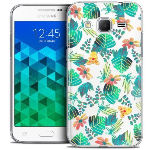 Coque Crystal Samsung Galaxy Core Prime (G360) Extra Fine Spring - Tropical