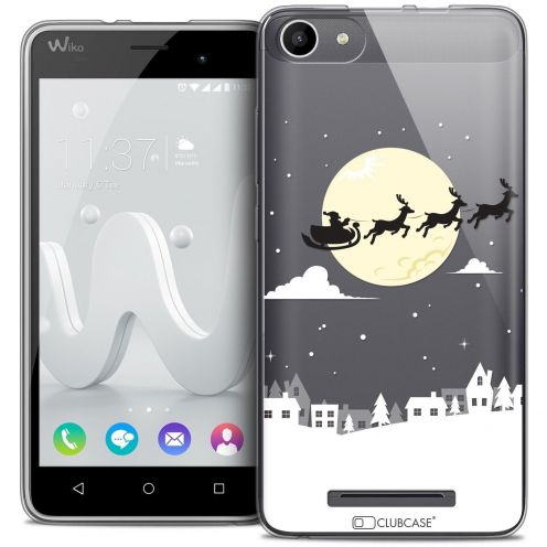 Coque Crystal Gel Wiko Jerry Extra Fine Noël 2016 - Flying Stanta