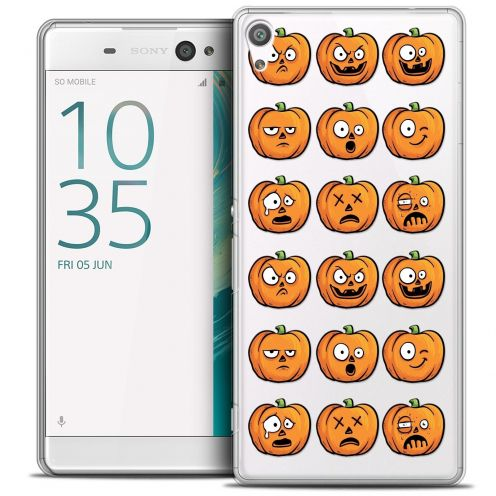 "Coque Crystal Sony Xperia XA 5"" Extra Fine Halloween - Cartoon Citrouille"