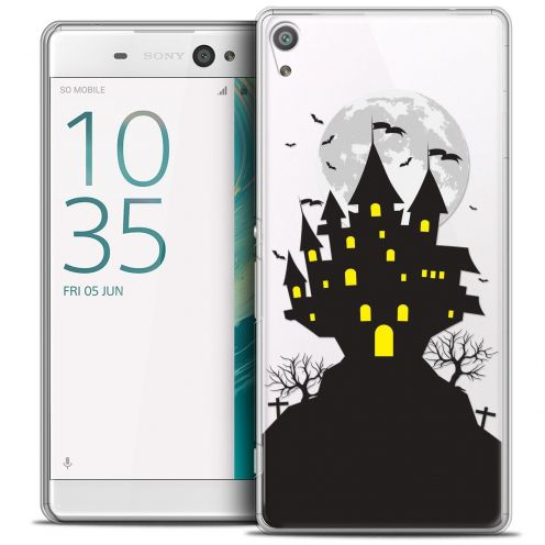"Coque Crystal Sony Xperia XA 5"" Extra Fine Halloween - Castle Scream"