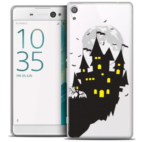 "Coque Crystal Sony Xperia XA 5"" Extra Fine Halloween - Castle Dream"