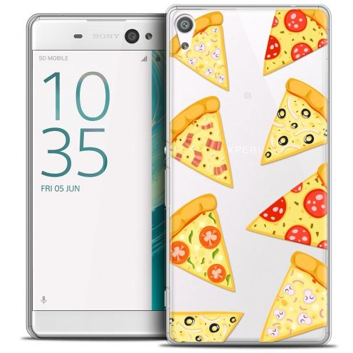 """Coque Crystal Xperia XA Ultra 6"""" Extra Fine Foodie - Pizza"""