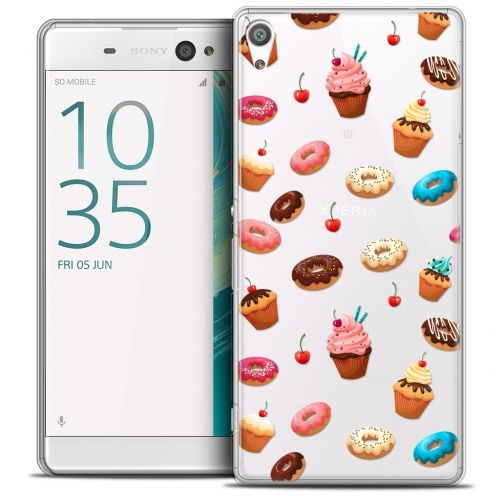"""Coque Crystal Xperia XA Ultra 6"""" Extra Fine Foodie - Donuts"""