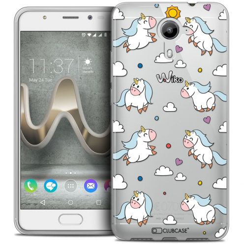 Coque Crystal Gel Wiko U Feel PRIME Extra Fine Fantasia - Licorne In the Sky