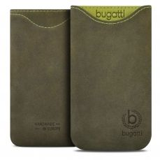 Bugatti® Genuine Leather Pouch Skinny Blooming Pine Galaxy Note