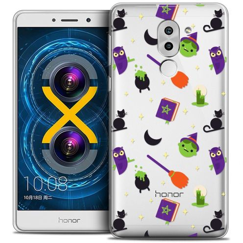 Coque Crystal Gel Huawei Honor 6X Extra Fine Halloween - Witch Potter