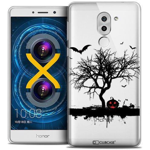 Coque Crystal Gel Huawei Honor 6X Extra Fine Halloween - Devil's Tree