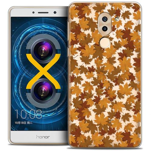 Coque Crystal Gel Huawei Honor 6X Extra Fine Autumn 16 - Feuilles