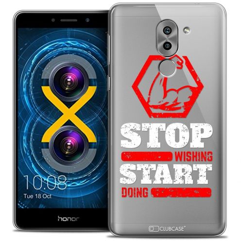 Coque Crystal Gel Huawei Honor 6X Extra Fine Quote - Start Doing