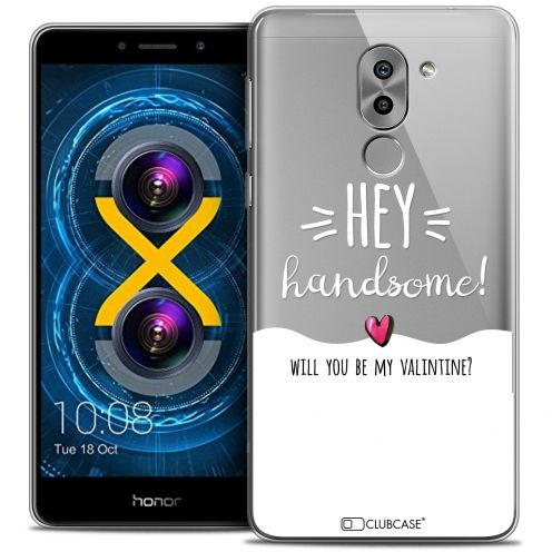 Coque Crystal Gel Huawei Honor 6X Extra Fine Love - Hey Handsome !