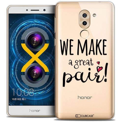 Coque Crystal Gel Huawei Honor 6X Extra Fine Love - We Make Great Pair