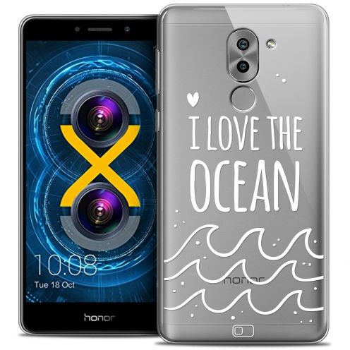 Coque Crystal Gel Huawei Honor 6X Extra Fine Summer - I Love Ocean