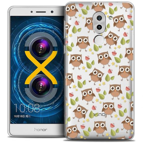 Coque Crystal Gel Huawei Honor 6X Extra Fine Summer - Hibou