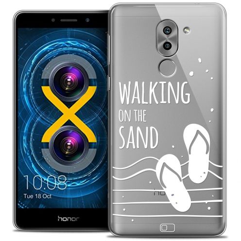 Coque Crystal Gel Huawei Honor 6X Extra Fine Summer - Walking on the Sand