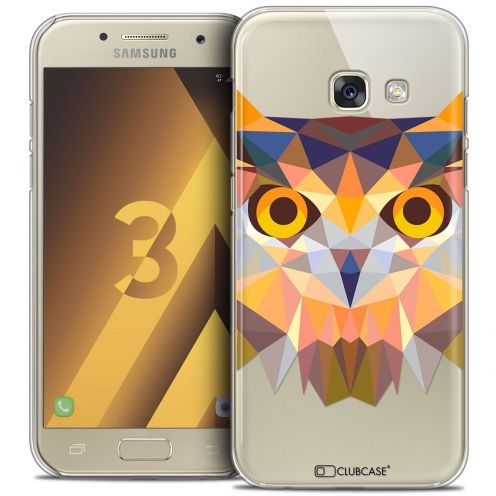 Coque Crystal Samsung Galaxy A3 2017 (A320) Extra Fine Polygon Animals - Hibou