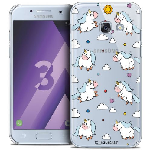Coque Crystal Samsung Galaxy A3 2017 (A320) Extra Fine Fantasia - Licorne In the Sky
